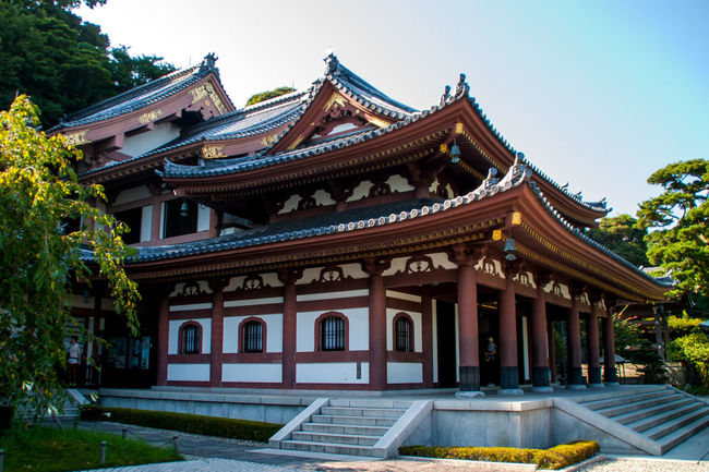 Architecture Building Exterior Famous Place Hasedera Hasedera Temple History Kamakura Old Town Religion