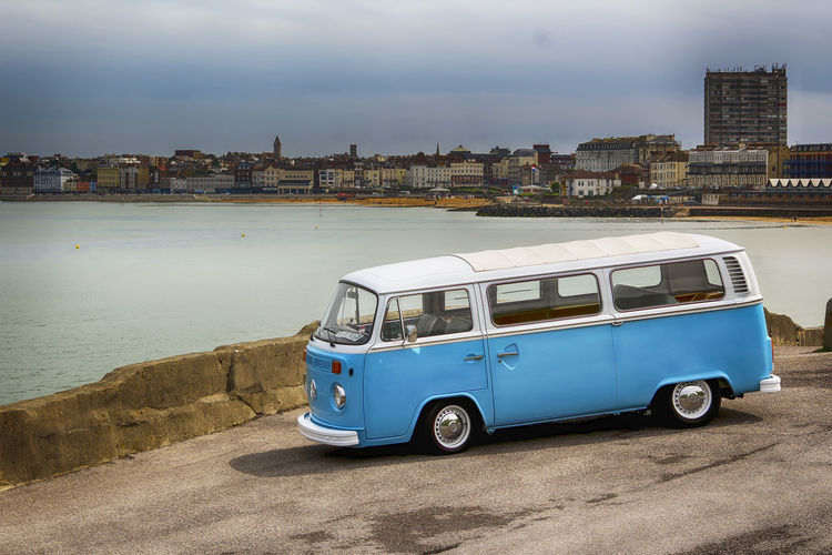 Camper Shoot Volkswagen Vwcamper vwcampervan First Eyeem Photo Still Retro Car Oldcars Cannon Amature Beach Seafront Photooftheday Retro Car Automotive Photography