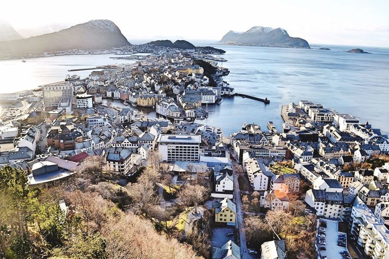 Probably one of the most charming places in Norway 😍 Showcase March Norway Alesund