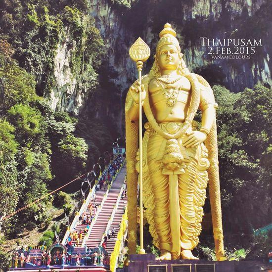 Spiritual Lord_muruga Murugan - Batu Caves Thaipusam Festival #thaipusam