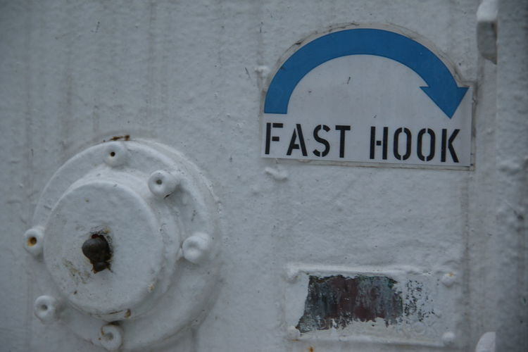 Boatlife Close-up Day Fast Hook No People Outdoors Sealife Ship