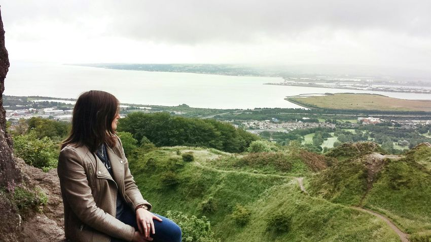 Amazing trip to Cave Hill, Northern Ireland - I risked my life to climb the cave but finally did it (proud) 😆 Nature My Feet Hurt Relaxing Nice Views Portrait Take A Break Northern Ireland Photography EyeEm Nature Lover Protecting Where We Play