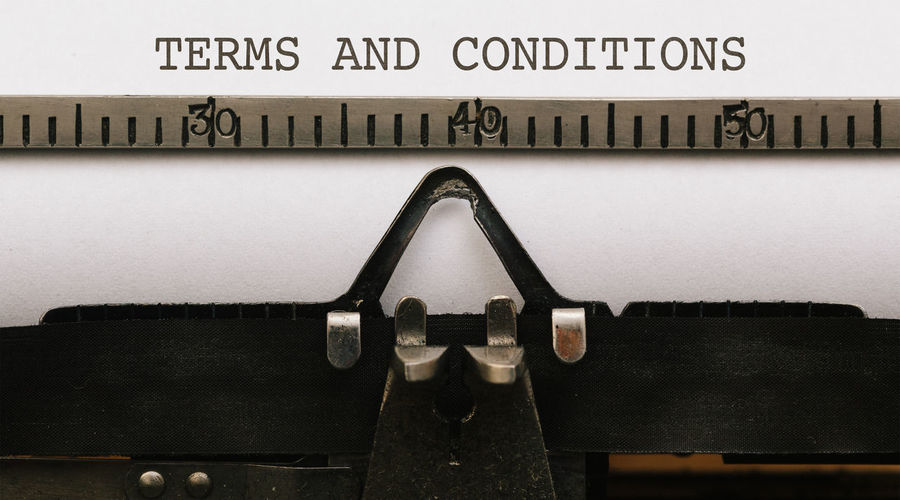 Terms and Conditions Close-up Communication Conditions Day Indoors  Letters No People Paper Terms Text Typewriter Vintage Word