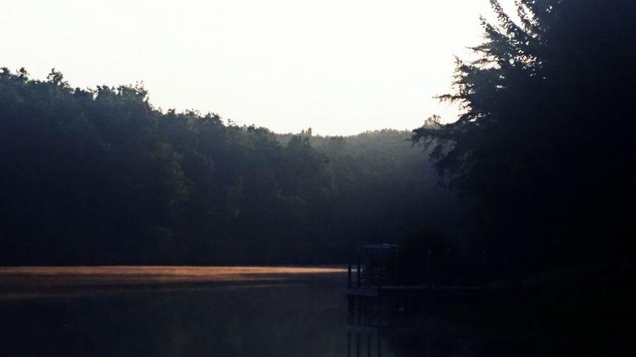 Sunset #sun #clouds #skylovers #sky #nature #beautifulinnature #naturalbeauty #photography #landscape Dock Water Reflections Fairfieldgladetennessee Tennessee Scenics Vacation Dusk
