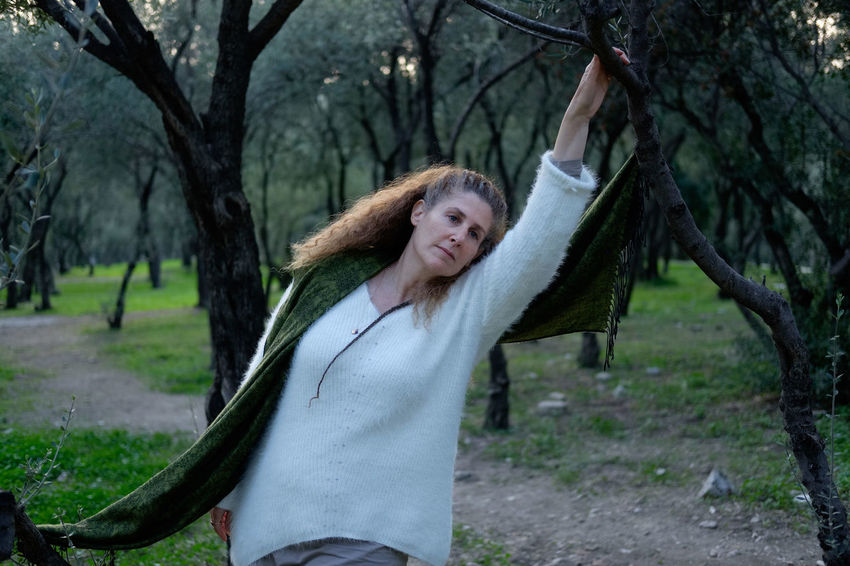 Raphaela Gilla betwen the oive trees beneth the Acropolis, Athens Greece Smiling One Person Tree Portrait Looking At Camera Happiness Women Hair Emotion Young Adult Adult Hairstyle Cheerful Plant Standing Clothing Nature Casual Clothing Human Arm Outdoors Human Limb Beautiful Woman Arms Raised Human Hair