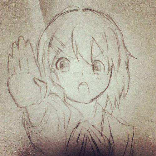 落書き けいおん! 平沢唯 落書き