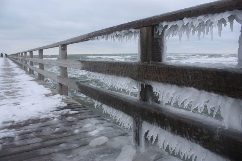 Seebrücke Zingst, very cold winter 2010, Baltic Baltic Sea Cold Cold Days Cold Temperature Cold Winter ❄⛄ Eis Eye4photography  EyeEm Best Edits EyeEm Best Shots EyeEmBestPics Icicle Icicles Ostsee Ostseebad Ostseeküste Outdoor Photography Outdoor Pictures Outdoors Seebad Zingst Snow Snow ❄ Snowing Traveling Winter
