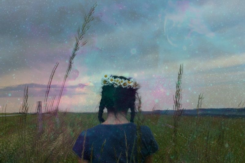 In spacee no one can hear you dream. - KickThePJ 🌌❤ Adult One Woman Only Nature Photography Landscape Germany Flowers Galaxy Dramatic Sky Beauty In Nature Space Neighborhood Map Canon 700D Outdoors Field Live For The Story Nature Traveling Cloud - Sky The Great Outdoors - 2017 EyeEm Awards The Portraitist - 2017 EyeEm Awards BYOPaper! Young Adult Adventure Flower Grungegirl