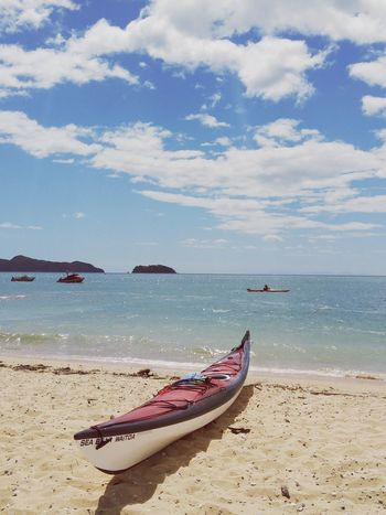 take me away Beach Sea Nautical Vessel Water Sand Horizon Over Water Scenics Shore Cloud - Sky Nature Beauty In Nature Outdoors Tranquility Water Sport