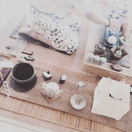 A morning tea ceremony Tea Teaceremony Relaxing Taste Tasty Tranquility