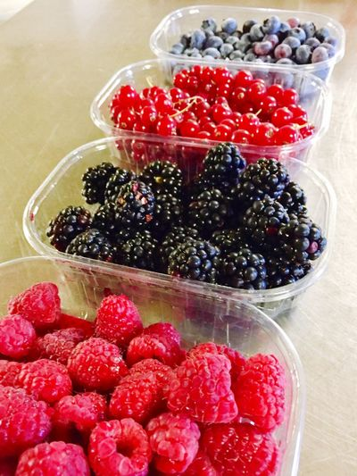 Fruit Strawberry Food Food And Drink Raspberry Berry Fruit Freshness Healthy Eating Blueberry Blackberry Indoors  Red Sweet Food Dessert No People Variation Day Close-up Ready-to-eat
