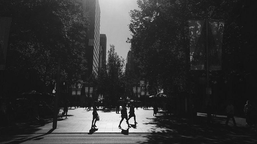 B&w Street Photography | Silhouette