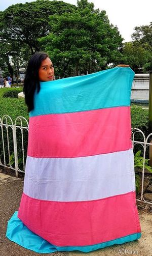Transgender Flag Transgender Transgenderpride Transgender Flag Lgbt Lgbt Pride Lgbtq Pride Prideparade Pride March EyeIMNewHere EyeEmNewHere EyeEm Gallery Eye4photography  Eyeem Philippines Cebu City Philippines Tree Portrait Women Pink Color Young Women Sky Rainbow Flag Love Is Love The Portraitist - 2018 EyeEm Awards