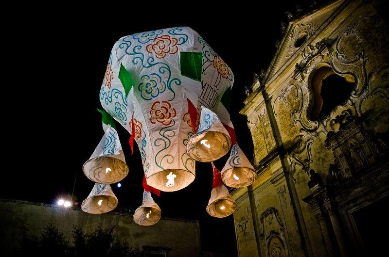 Balloon Balloons Festa Festapatronale Fire Balloon Palloni San Vito Tricase