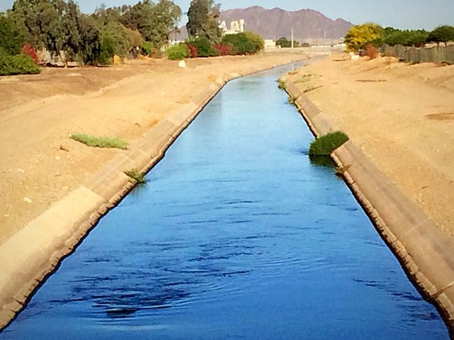 The Irrigation canal was pretty high this morning, must be growing new crops somewhere. ✨ https://paypal.me/pools/c/83C98Mcfza Me Alone Water Ways IPhone Photography Crops Irrigation Canal Water Nature Day Built Structure No People Outdoors Tranquil Scene Sunlight Tranquility