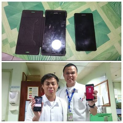 THE FATHER AND SON. ZEUS MEET BABY Z!!! 👍👌😉😁😎📱ICAN XPERIA Welcometothefamily Xperianz BeMoved DemandGreat