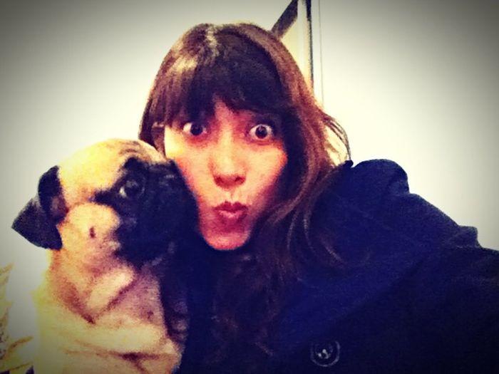 Hello World Taking Photos That's Me I Love My Dog My Dog Doglover My Dog <3 Pug Love Pug Life ❤