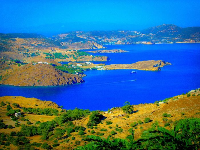 Landscape Patmos Island Bay Sea Blue Wave Seascape The KIOMI Collection Share Your Adventure Shades Of Blue Blue Horizons Landscapes Summer Memories 🌄 Greek Islands Summer Views The Best From Holiday POV Tranquility Boats A Moment Of Zen... Landscapes With WhiteWall Firth Firths Gulf Aerial Shot No People