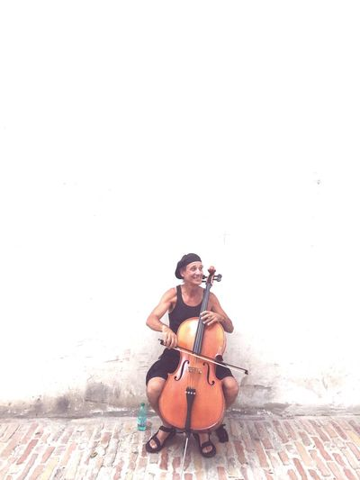 Hanging Out Musician Street Musician Spoleto-Umbria <3 Spoleto Festival