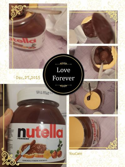 I Love Nutella Nutella ❤ Nutella Time Ensevdigim 💕 Nutellalove Ganimet