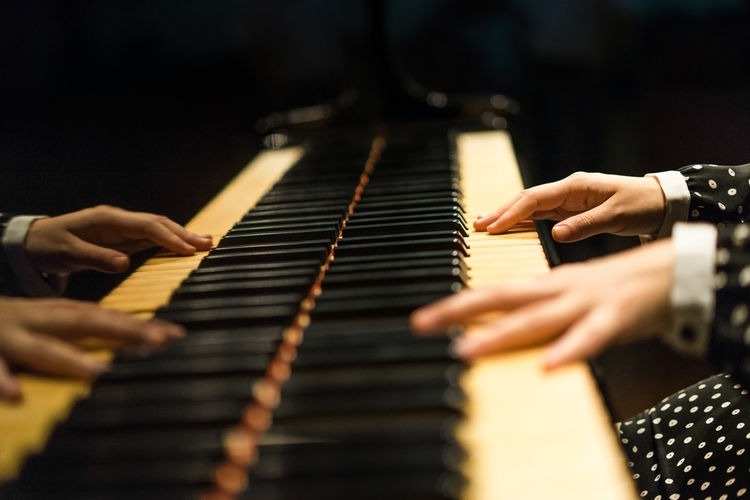 Take Over Music Adult Arts Culture And Entertainment Close-up Dark Day Finger Hand Human Body Part Human Hand Indoors  Music Music Musical Instrument Musician One Person People Performance Piano Piano Keys Playing Polkadots Stage Stage Light TakeoverMusic Piano Moments