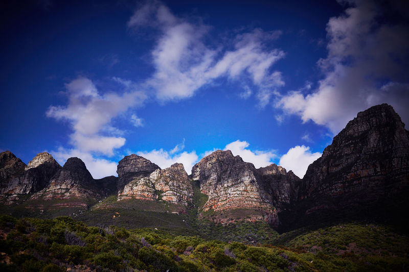 Beauty In Nature Blue Cloud - Sky Day Landscape Mountain Nature No People Outdoors Physical Geography Rock - Object Rock Formation Scenics Sky Tranquil Scene Tranquility Travel Destinations