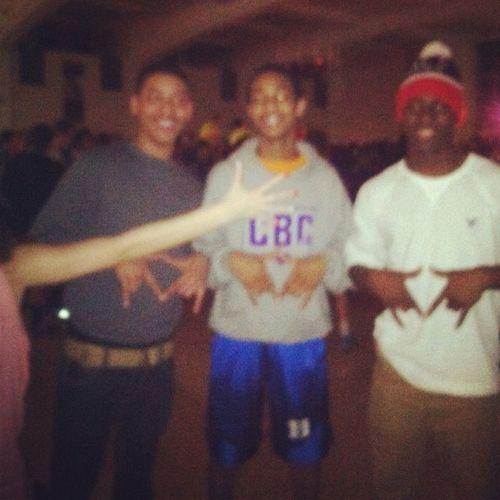 Me JB And Lamar Last Week