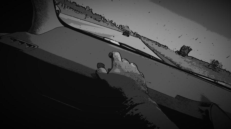 Shadow Blackandwhite Cartoonish
