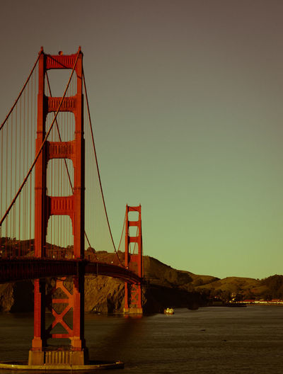 #50mm #bridge #california #evening #goldengate #nike #SanFrancisco #sfogoldengate Architecture Connection Famous Place Golden Gate Bridge International Landmark Tourism Travel Destinations