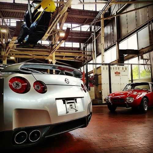 Lanemotormuseum Madeinjapan Nissan GTR nissangtr toyota sports800 s800 toyotasports800gt