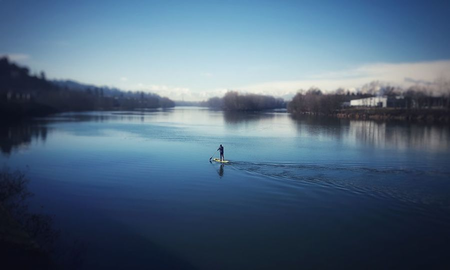 Winter water surfing mountains HERO adventure Cityscape outdoor photography sky Art is Everywhere Lost World Man Real People Sport Winter Water Surfing Mountains HERO Adventure Cityscape Outdoor Photography Sky Turin Italy EyeEm Best Shots Riverside Shades Of Winter An Eye For Travel