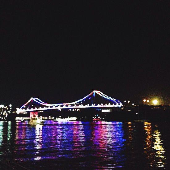 Brisbane Queensland Full Moon Storey Bridge First Eyeem Photo Beautiful Sarah_wimpress
