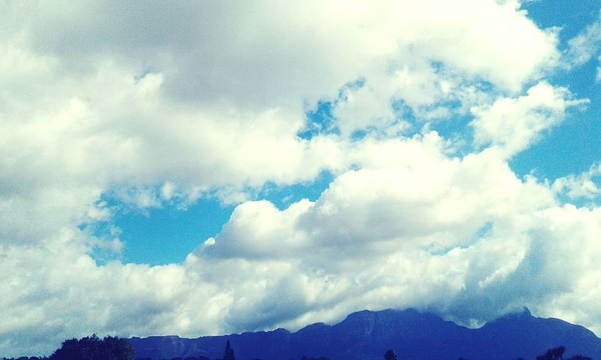 Clouds😊 Cloud - Sky Sky Nature Landscape Outdoors Mountain Beauty In Nature Noob Inexperienced