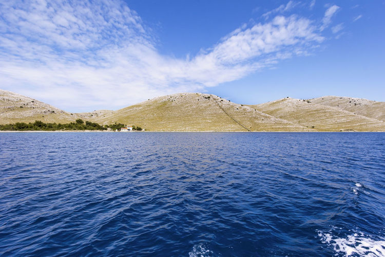 Kornati Islands, Croatia Beauty In Nature Blue Croatia Cultures Day Island Islandlife Kornati Islads Kornati Island Landscape Mediterranean  Meditteraneansea Mittelmeer Mountain No People Outdoors Scenics Sea Sea And Sky Sky Tranquil Scene Travel Water