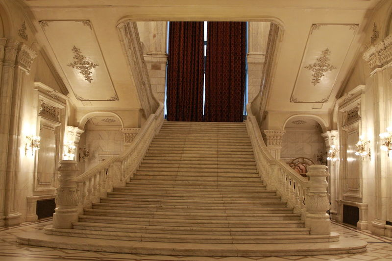 White Stairs Architectural Column Architecture Day Indoors  Large Building Marble Staircase Marble Stairs Marbledstone No People Sculpture Staircase White The Architect - 2017 EyeEm Awards