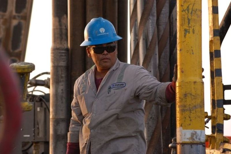 Floorman Rig Worker