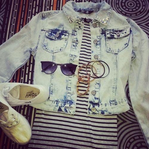 Outfit Looooveit Tomyz Denimj maxidress#accessories :-D