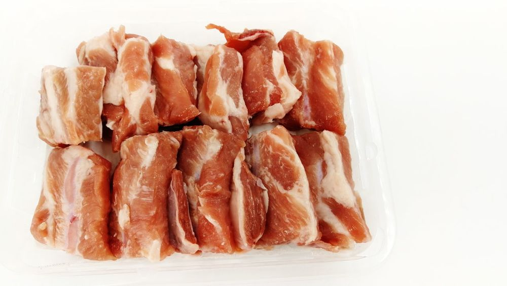 Food Food And Drink Freshness Meat No People Italian Food White Background Indoors  Healthy Eating Close-up Pork Bacon Tapas Ready-to-eat Day