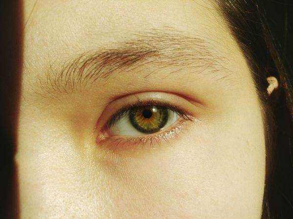 Human Eye Human Body Part Eye Only Women Close-up One Woman Only Adults Only