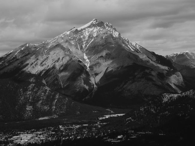EyeEm Nature Lover Blackandwhite Photography Nature Photography Mountain View Mountain_collection Rocky Mountains Eyemphotography Banff National Park  Banff Alberta