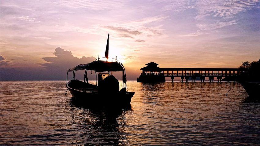 Showcase July On The Way Holiday Vacation Sunrise Sunset ASIA Boat Ocean Sea Cambodia Malaysia Beach Life Water