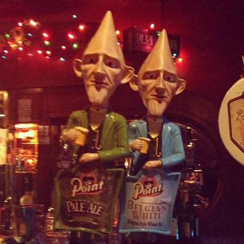 Beer tap handles at Tonicroom Creepy WTF Stillwantbeer