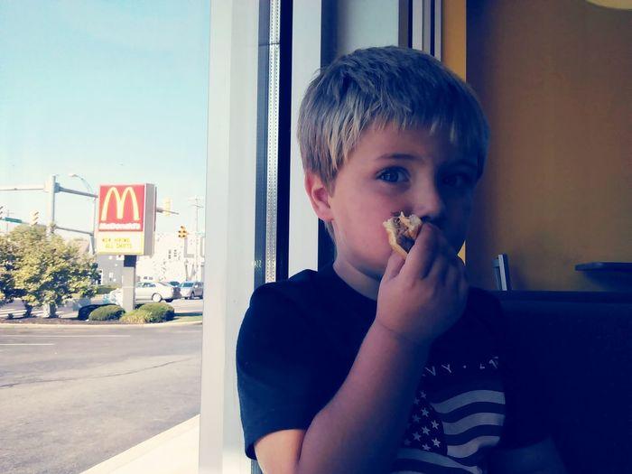 Mcdonalds Enjoying Life Babyboy