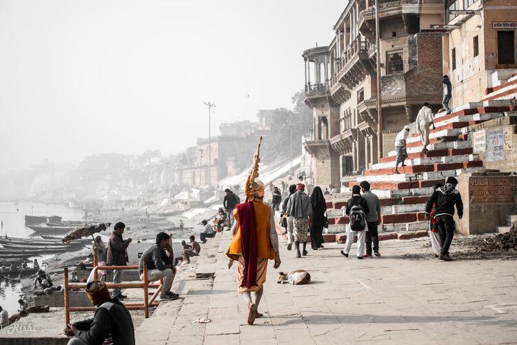 EyeEm First Photo Ghats  Ghats Of Varanasi Ghats On The Ganges Cityoftemple Sadhu Ganges Varanasi Travel First Eyeem Photo Nikon Nikonphotography NIKON D5300 Photography