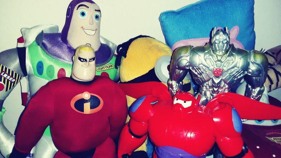 Boy's Room Buzzlightyear Minions Opitmusprime Big Hero 6 Peppapig Mr Incredible Dreans Children