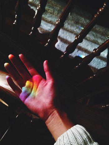 Catch the rainbow Rainbow Hand First Eyeem Photo