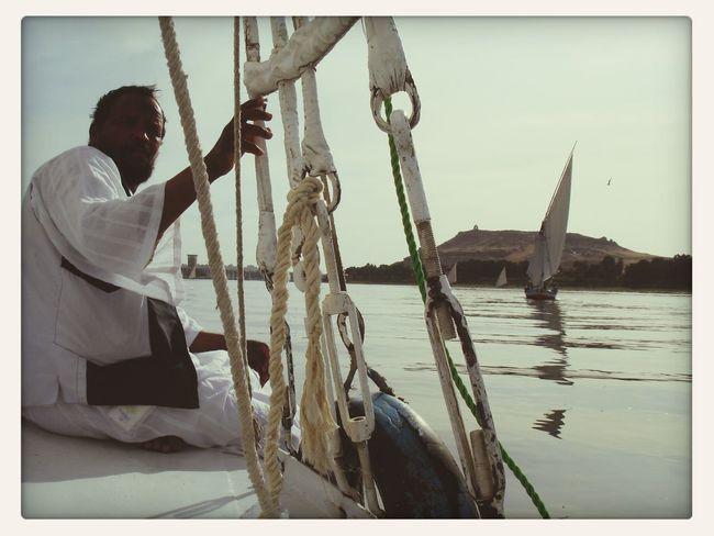 Sailing Around The World By Lufthansa Nilo Egypt