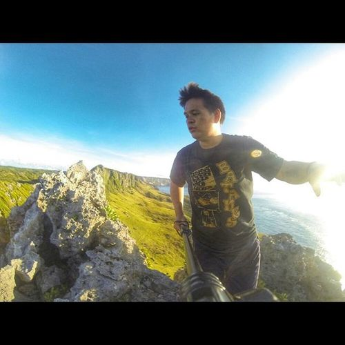 Feeling kabado at Rafang cliff, Itbayat, Batanes. AIDSventure AsankaAids Travel Travelph Batanes BATANESTRIP Backpackingpinas Backpacking BackpackingBatanes Backpackers Backpackermode ExploreBatanes ExplorePH Cliff Gopro Goproph  Goprophilippines Goprophoto Goprooftheday Goprohero3 GoProHero3BE Goprophotography Pinasmuna Wanderer Wanderlust itsmorefuninthePhilippines