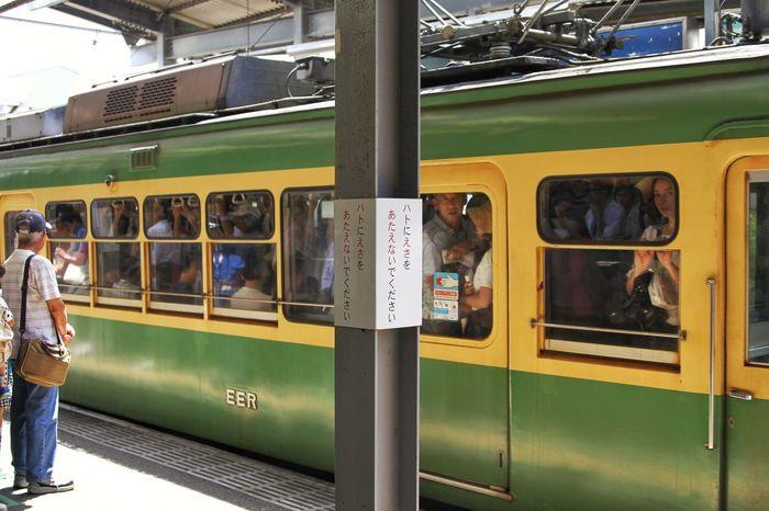 Kamakura station/ドラマの始まり Kamakura Station Enoden Enoden Railway Hanging Out Train Passengers Enjoying Life Relaxing Canon EOS 7D at Kamakura Station in Kamakura Kanagawa Japan