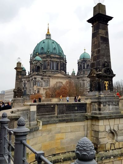 Berlin Berlin Cathedral Catedral Berlin Spring Happiness Life City Dome Place Of Worship Winter Religion Spirituality Sky Architecture Building Exterior Built Structure